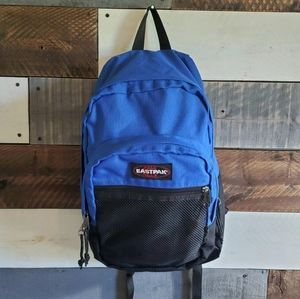 Eastpak Blue Black Backpack